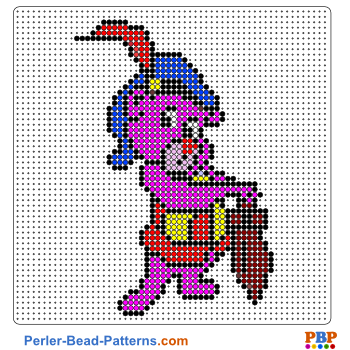 Perler Bead Pattern Adventures of the Gummi Bears