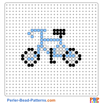 Perler Bead Pattern Bicycle