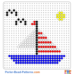 Boot perler bead patterns web 84373