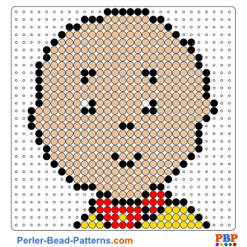 Perler Bead Pattern Caillou
