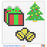 Christmas decoration perler bead patterns web 89e70