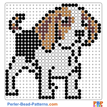 Perler Bead Pattern Dog