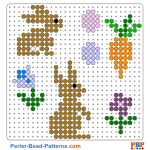 Easter cards perler bead patterns web a72e4