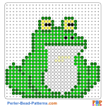 Frog perler bead patterns web 75c7d