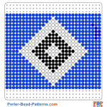 HSV Hamburg perler bead patterns web 76e7a