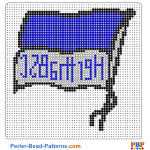 Hertha BSC perler bead patterns web 16770