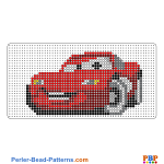 Lightning Mcqueen perler bead patterns web ca5e0