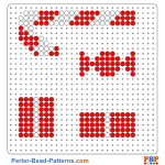 Little Christmas perler bead patterns web c95e3