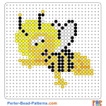 Maya the Bee perler bead patterns web a7790