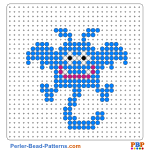 Monster perler bead patterns web 148ee