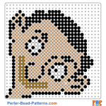 Mr Bean portrait perler bead patterns web 90cd9