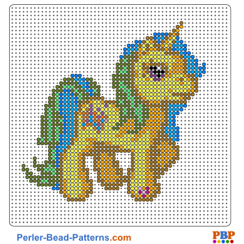 My Little Pony Perler Bead Pattern And Designs Bead Sprites