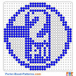 Schalke 04 perler bead patterns web 71d16