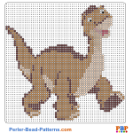 The Land Before Time perler bead patterns web 65226