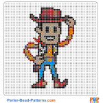 Woody-Toy Story perler bead patterns web 035c0